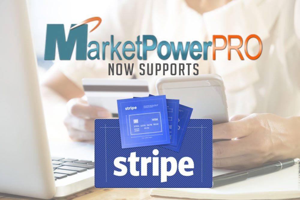 MarketPowerPRO Now Supports Stripe