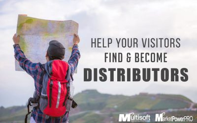 Help Your Visitors Find Distributors & Become Distributors