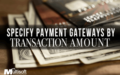Specify Payment Gateway