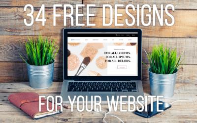 34 Free Website Templates For Your MarketPowerPRO Website